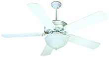 "Craftmade K11241 - Porch Fan 52"" Ceiling Fan Kit with Light Kit in White"