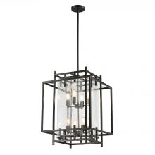 ELK Lighting 14205/4+4 - Intersections 8 Light Pendant In Oil Rubbed Bron
