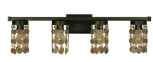Framburg 4364 BN - 4-Light Brushed Nickel Naomi Sconce