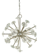 Framburg 4815 PB - 12-Light Polished Brass Apogee Chandelier