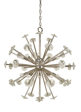 Framburg 4816 PB - 20-Light Polished Brass Apogee Foyer Chandelier