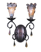 Framburg 9722 MB - 2-Light Mahogany Bronze Liebestraum Sconce