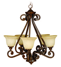 Jeremiah 9128PR5 - Toscana 5 Light Chandelier in Peruvian Bronze