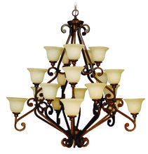 Jeremiah 9152PR20 - Toscana 20 Light Chandelier in Peruvian Bronze