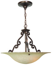 Jeremiah X1916-AG - Toscana 3 Light Pendant in Aged Bronze