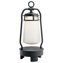 Kichler 49500BKTLED - Portable Bluetooth Led Lantern