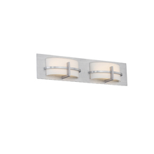 WAC US WS-21622-AL - COMPASS 22IN 2 LIGHT VANITY 3000K