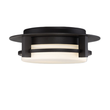 WAC US FM-W33612-BZ - COMPASS 12IN OUTDOOR FLUSH MOUNT 3000K