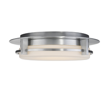 WAC US FM-W33616-AL - COMPASS 16IN OUTDOOR FLUSH MOUNT 3000K