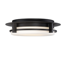 WAC US FM-W33616-BZ - COMPASS 16IN OUTDOOR FLUSH MOUNT 3000K