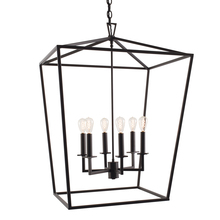 Norwell 1082-MB-NG - Large Cage Pendant