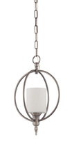 Craftmade 37231-AN - Meridian 1 Light Entry in Antique Nickel