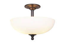 Craftmade 39953-ESP - Brighton 3 Light Convertible Semi Flush/Pendant in Espresso