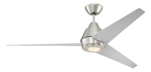 "Craftmade ACA56BNK3 - Acadian 56"" Ceiling Fan (Blades Included) in Brushed Polished Nickel"