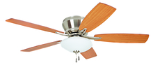 "Craftmade ATM52BNK5C - Atmos 52"" Ceiling Fan with Blades and Light in Brushed Polished Nickel"