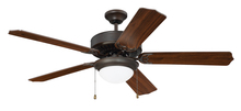 "Craftmade CES209ABZ - Pro Energy Star 209 52"" Ceiling Fan in Aged Bronze Brushed (Blades Sold Separately)"
