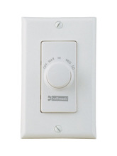 Craftmade CM-RTF-W - 4 Speed Fan Control with Decorative Face Plate in White