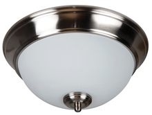 "Craftmade XP11BNK-2W - Pro Builder 2 Light 11"" Flushmount in Brushed Polished Nickel"