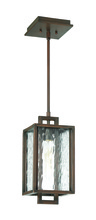 Craftmade Z9801-ABZ - 1 Light Aged Bronze Brushed Pendant