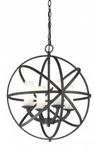 Z-Lite 6017-4S-BRZ - 4 Light Pendant