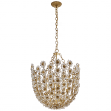 Visual Comfort ARN 5221G-CG - Claret Tall Chandelier in Gild with Crystal