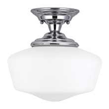 Sea Gull 77437-05 - Large One Light Semi-Flush Mount