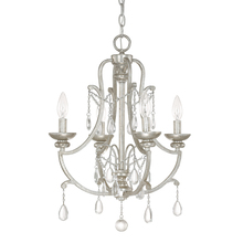 Capital 4801AS-CR - 4 Light Mini Chandelier