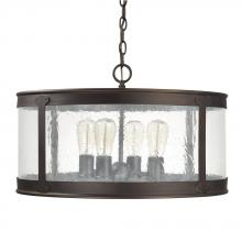 Capital 9568OB - 4 Light Outdoor Pendant