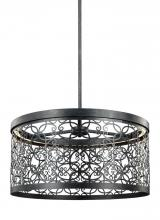 Feiss F3097/1DWZ-LED - 19 Inch Outdoor LED Pendant