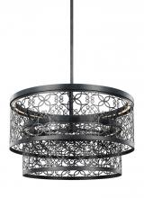 Feiss F3098/2DWZ-LED - 24 Inch Two-Tier Outdoor LED Pendant