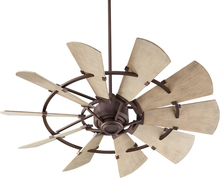 "Quorum 195210-86 - WINDMILL 52"" DAMP FAN -OB"