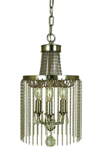 Framburg 1167 SBR - 3-Light Siena Bronze Guinevere Mini Chandelier