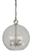 Framburg 4839 PN - 4-Light Polished Nickel Jupiter Mini Chandelier