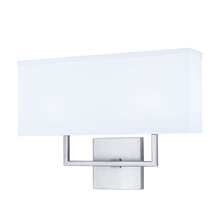 Norwell 8986-BN-WS - Maxwell 2 Light Sconce