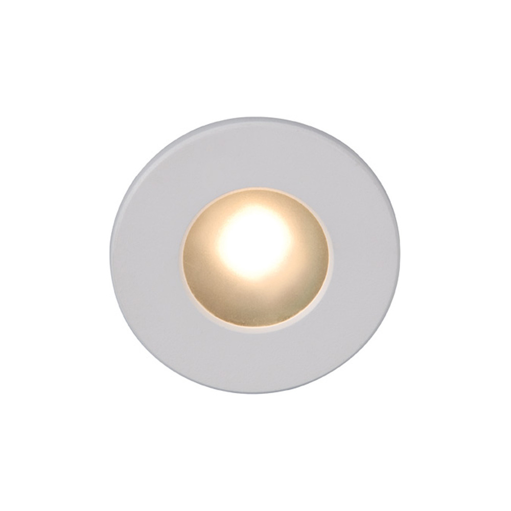 Lighting Etc. in North Richland Hills, Texas, United States, WAC US WL-LED310-C-WT, LED STEP LIGHT - CIRCULAR FACE,