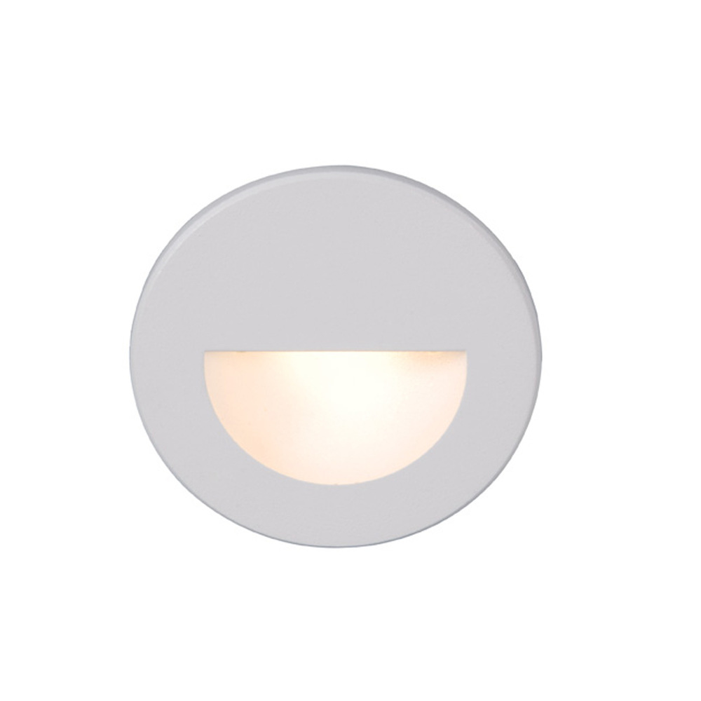 Lighting Etc. in North Richland Hills, Texas, United States, WAC US WL-LED300-C-WT, LED STEP LIGHT - CIRCULAR SCOOP,
