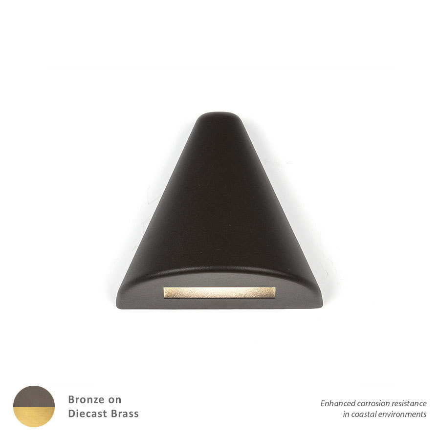 Lighting Etc. in North Richland Hills, Texas, United States, WAC US 3021-27BBR, LANDSCAPE DECK 12V CONE - BRASS,