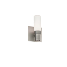 WAC US WS-76608-SN - PILLAR 8IN 1 LGT SCONCE/VANITY 3000K