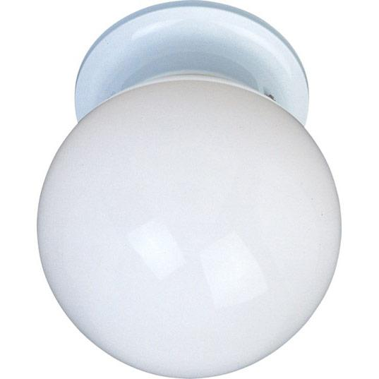 Lighting Etc. in North Richland Hills, Texas, United States, Maxim 85889WTWT, Utility EE-Flush Mount, Utility EE