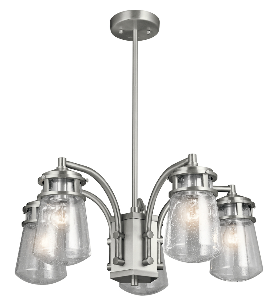 Lighting Etc. in North Richland Hills, Texas, United States, Kichler 49498BA, Outdoor Chandelier 5Lt, Lyndon