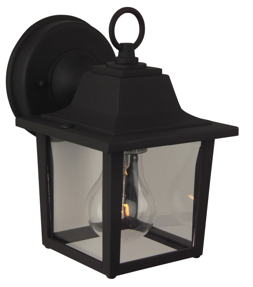 Lighting Etc. in North Richland Hills, Texas, United States, Craftmade Z190-05F, Black Wall Lantern,