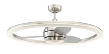 "Craftmade ANI36BNK3 - Anillo 36"" Ceiling Fan (Blades Included) in Brushed Polished Nickel"