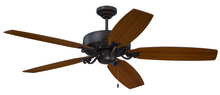"Craftmade PAT64ABZC5 - Patterson 64"" Ceiling Fan with Blades in Aged Bronze Highlight"