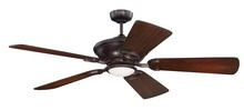 "Craftmade STY52OBG - Stately 52"" Ceiling Fan in Oiled Bronze Gilded (Blades Sold Separately)"
