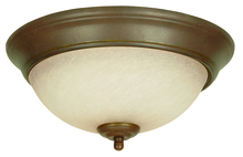 Craftmade X715-AG - 3 Light Flushmount in Aged Bronze Textured