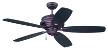 "Craftmade YOR52OB5 - Yorktown 52"" Ceiling Fan with Blades in Oiled Bronze"