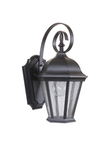 Craftmade Z2904-MN - 1 Light Midnight Outdoor Small Wall Mount