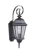 Craftmade Z2914-MN - 1 Light Midnight Outdoor Medium Wall Mount