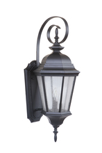 Craftmade Z2924-MN - 3 Light Midnight Outdoor Large Wall Mount
