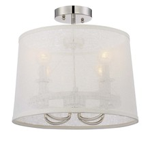 Crystorama 2294-PN_CEILING - 4 Light Polished Nickel Modern Ceiling Mount